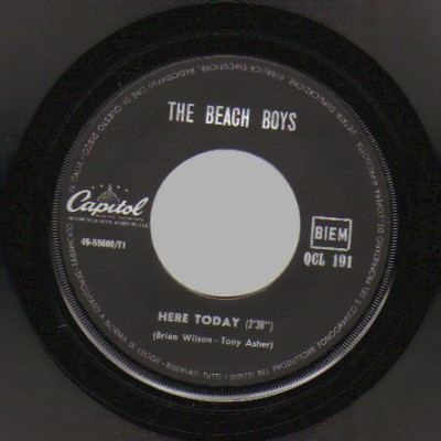 Beach Boys - Here Today / Good Vibration