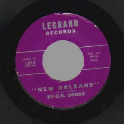 By-U.S. Bonds Please Forgive Me / New Orleans