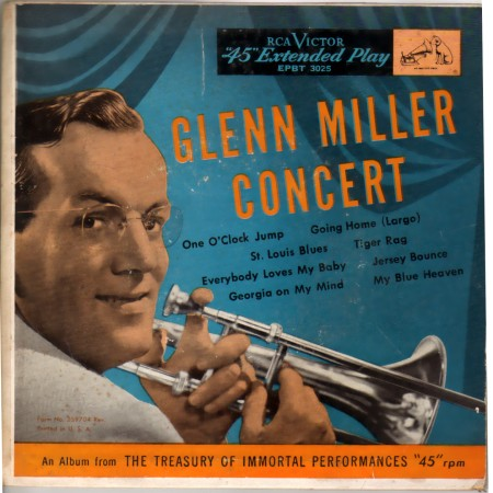 GLENN MILLER - Glenn Miller Concert - 45T (EP 4 titres)
