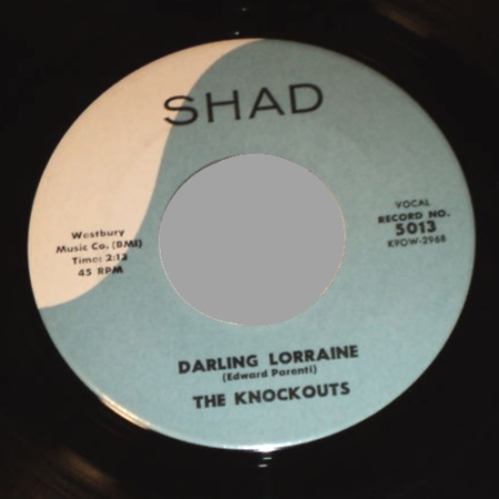 THE KNOCKOUTS - Riot In Room 3c / Darling Lorraine - 45T (SP 2 titres)