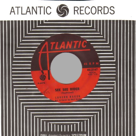 LAVERN BAKER - See See Rider / The Story Of My Love - 45T (SP 2 titres)