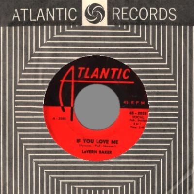 LAVERN BAKER - So High So Low / If You Love Me - 45T (SP 2 titres)