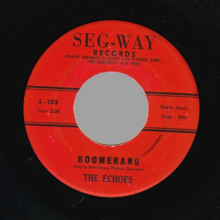 THE ECHOES - Boomerang / Baby Blue - 45T (SP 2 titres)