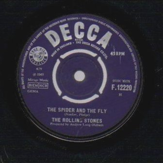THE ROLLING STONES - I Cant get No Satisfaction / The Spider And The Fly - 7inch (SP)