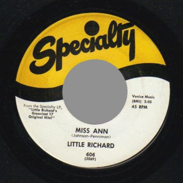 Jenny Jenny / Miss Ann - Little Richard