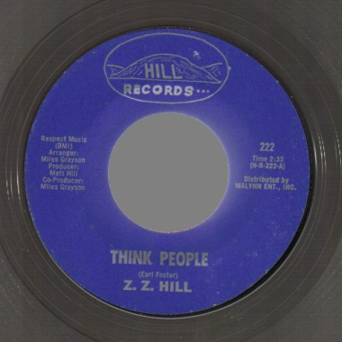 Zz Hill Don't+Make+Me+Pay+For+His+Mistakes+/+Think+People 45RPM