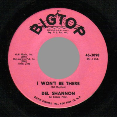 Del Shannon - Ginny In The Mirror / I Won't Be There