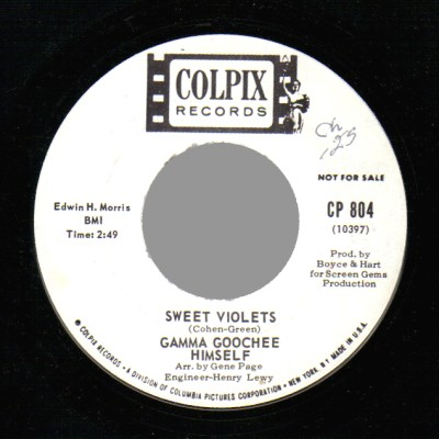 Gamma Goochee Himself The The Gamma Goochee