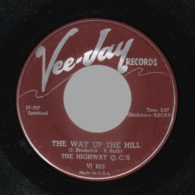 THE HIGHWAY Q.C,S - The Way Up The Hill / There's Something On My Mind - 45T (SP 2 titres)
