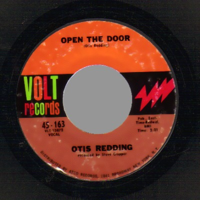 Otis Redding - The Happy Song / Open The Door Record