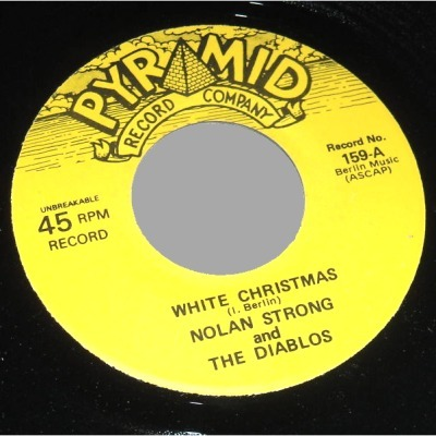 NOLAN STRONG & THE DIABLOS - White Christmas / Danny Boy - 45T (SP 2 titres)