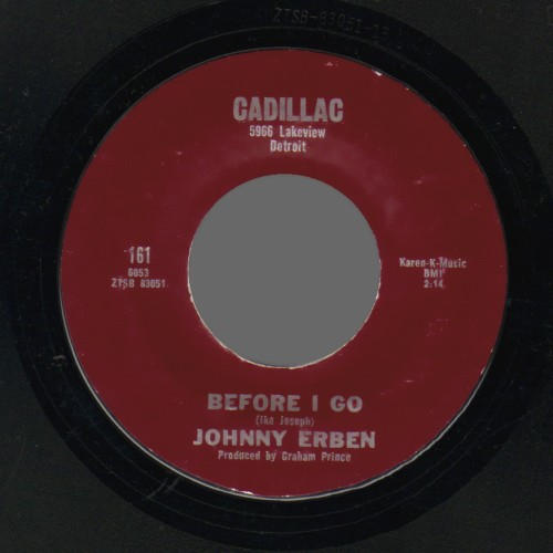 Johnny Erben Before I Go / Don'T Be Fooled Pretty Face