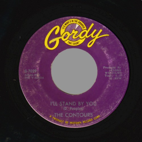 The Contours Can You Do It / I'll Stand By You