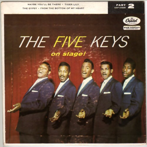 THE FIVE KEYS - On Stage Vol. 2 - 45T (EP 4 titres)