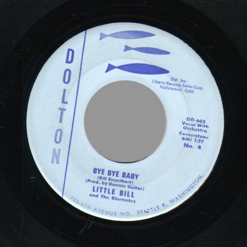 little bill & the blue notes bye bye baby / i love an angel