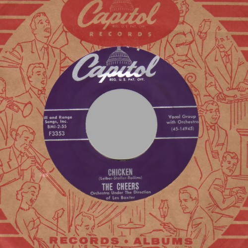 THE CHEERS - Chicken / Don't Do Anything - 45T (SP 2 titres)