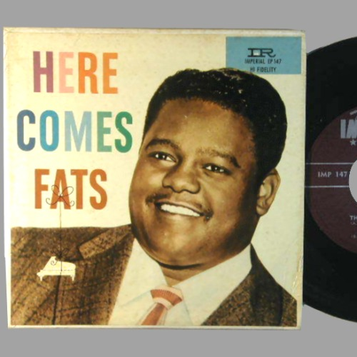 FATS DOMINO - Here Comes Fats EP - 45T (EP 4 titres)