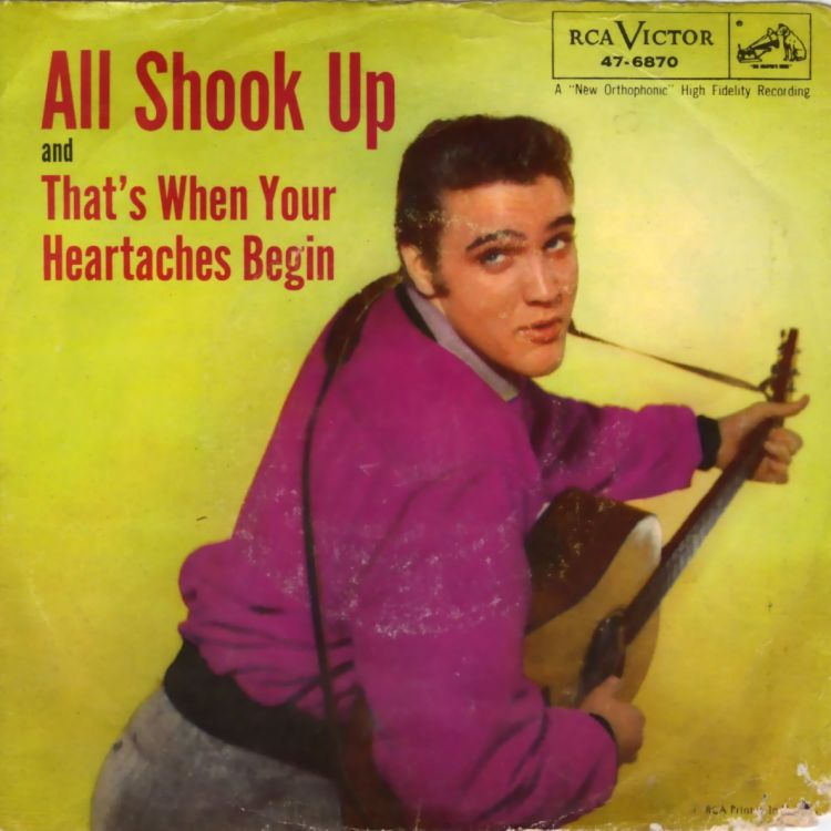 Elvis Presley - All Shook Up / That's When Your Heartaches Begin