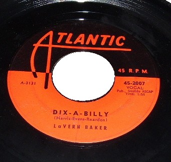 LAVERN BAKER - I Cried A Tear / Dix-a-billy - 45T (SP 2 titres)
