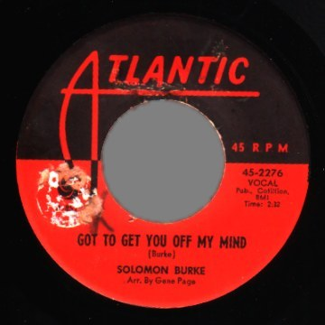 Burke,Solomon Got+To+Get+You+Off+My+Mind+/+Peepin 45RPM