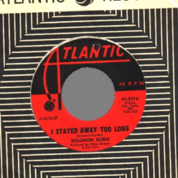 Burke,Solomon Take+Me 45RPM