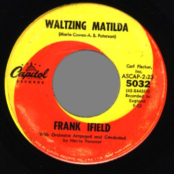 Ifield,Frank I'm+Confessin'+/+Waltzing+Matilda 45RPM