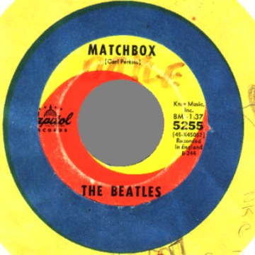 Beatles - Slow Down / Matchbox