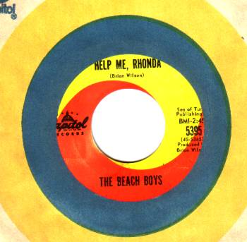 Beach Boys - Help Me Rhonda / Kiss Me