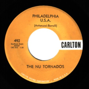 THE NU TORNADOS - Magic Record / Philadelphia Usa - 7inch (SP)