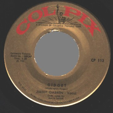 Darren,Jimmy You / Gidget 45RPM