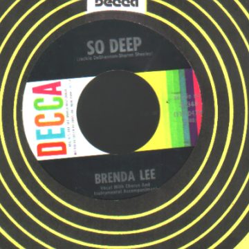 Brenda Lee - So Deep / Break It To Me Gently