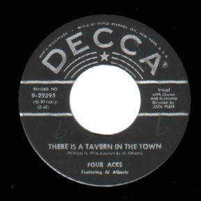 Four Aces - Melody Of Love / There's A Tavern In The Town