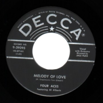 Four Aces - Melody Of Love / There Is A Tavern In The Town
