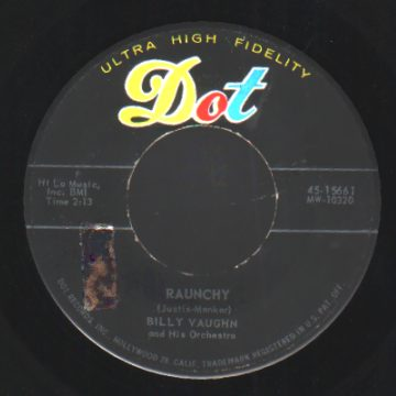 Vaughn,Billy Sail+Along+Silvery+Moon+/+Raunchy 45RPM