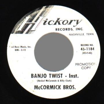 McCormick Bros Lonesome For You Banjo Twist