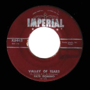 Fats Domino - Valley Of Tears / It's You I Love Record