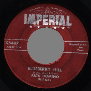 Fats Domino - Blueberry Hill / Honey Chile LP