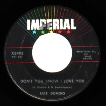 Fats Domino - Yes My Darling / I Want You To Know