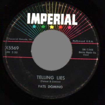 Fats Domino - When The Saints Go Marchin In / Telling Lies