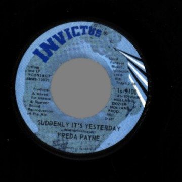 Payne,Freda You+Brought+The+Joy+/+Suddenly+It's+Yesterday 45RPM