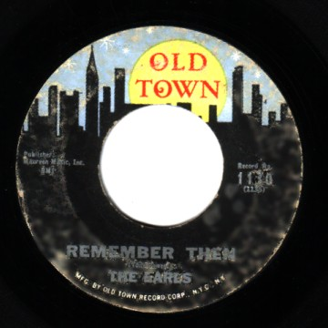 The Earls Remember+Then+/+Let's+Waddle 45RPM