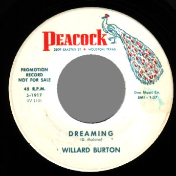 Willard Burton Backslide Teardrops Of Love
