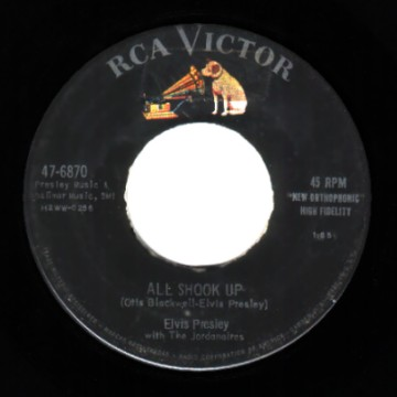 Presley,Elvis That's+When+Your+Heartaches+Begin+/+All+Shook+Up 45RPM