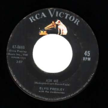 Elvis Presley - Ask Me / Ain't That Loving You Baby