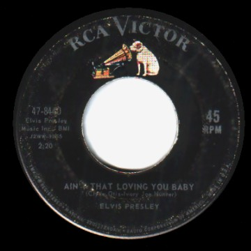 Elvis Presley - Ain't That Loving You Baby / Ask Me