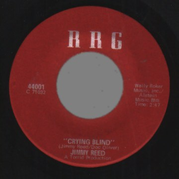 JIMMY REED - Crying Blind / Christmas Present Blues - 7inch (SP)