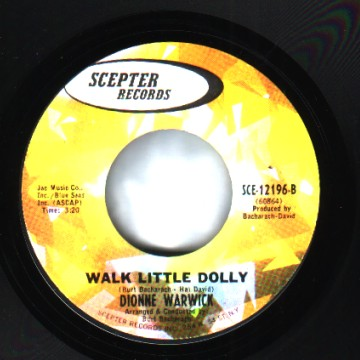 Dionne Warwick - The Windows Of The World / Walk Little Dolly