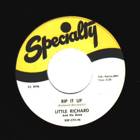 Little Richard - Ready Teddy / Rip It Up