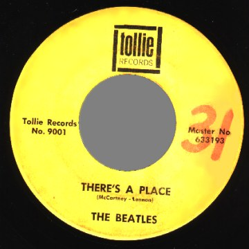 Beatles - There's A Place / Twist And Shout