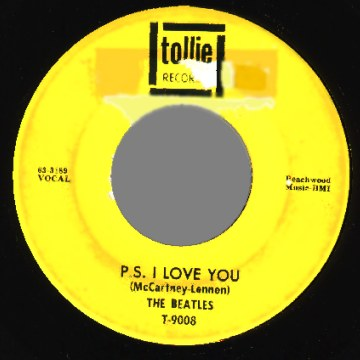 Beatles - Love Me Do / P.s. I Love You